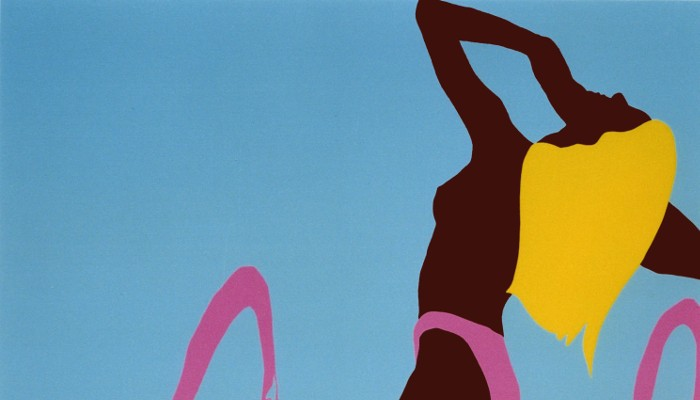Barbara 1998, 195x180cm, acrylic on canvas