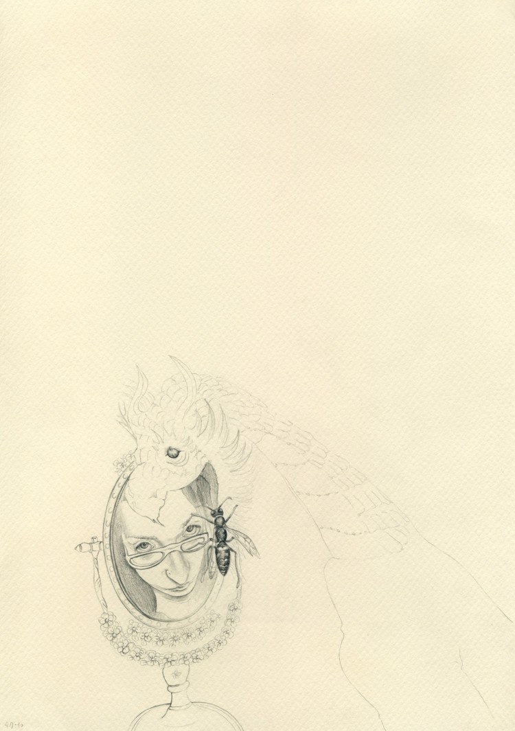 02 2010, 21x29.7cm, pencil on paper