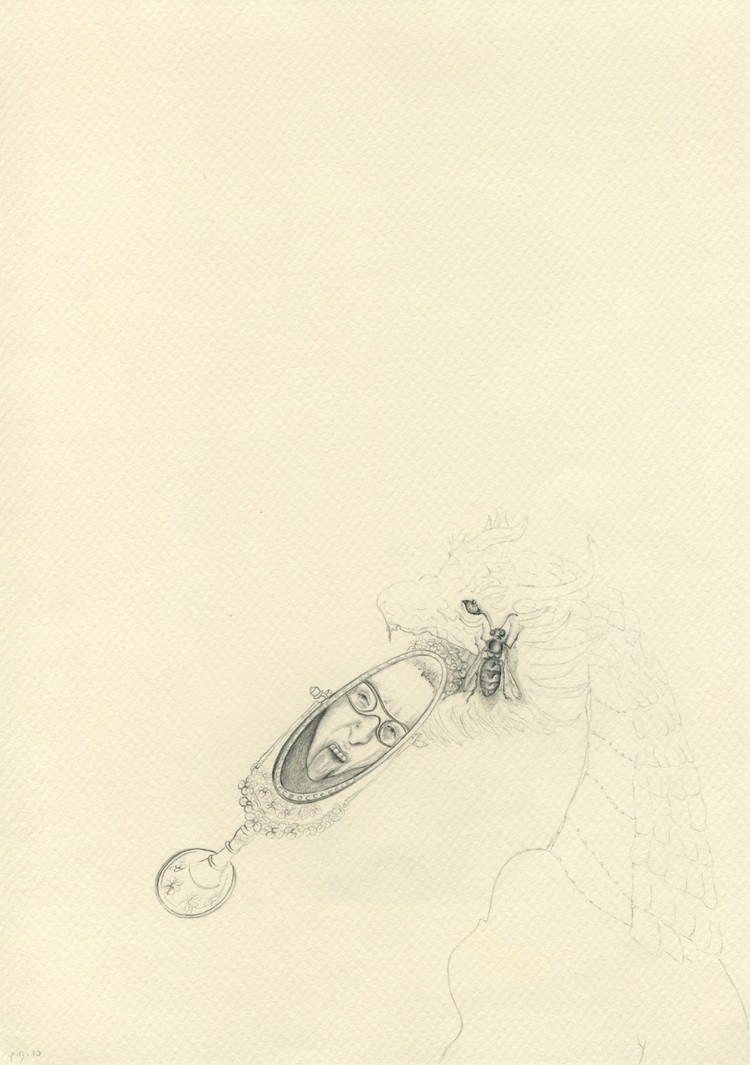 08 2010, 21x29.7cm, pencil on paper