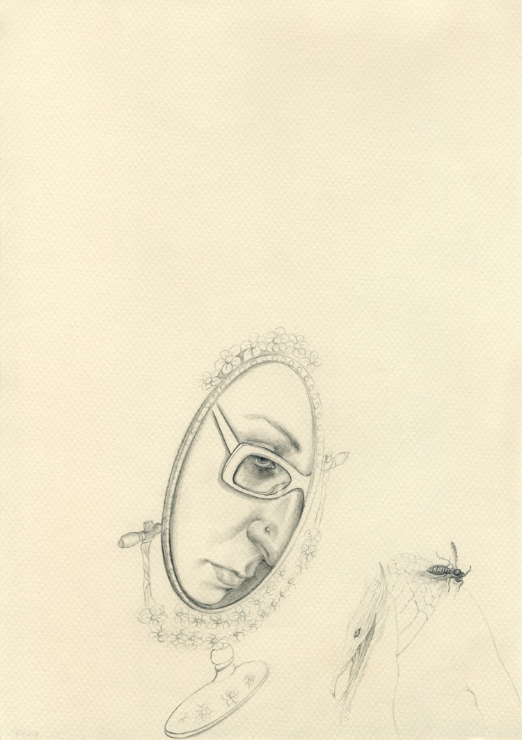 12 2010, 21x29.7cm, pencil on paper