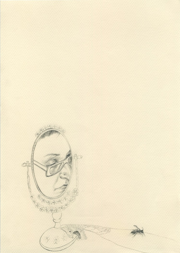 13 2010, 21x29.7cm, pencil on paper