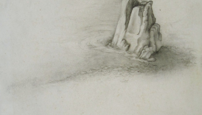 the land#3 2010, 13x18cm, pencil on paper