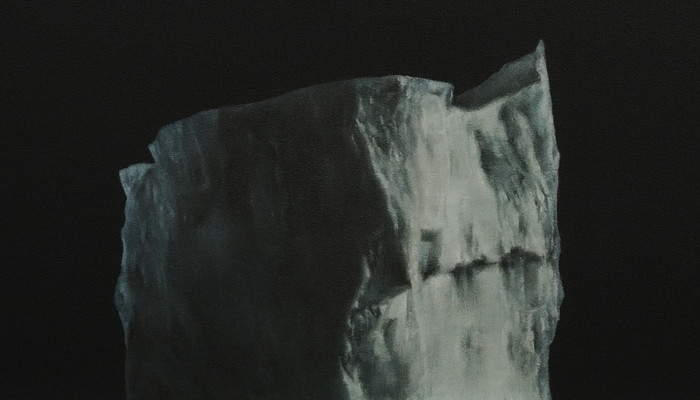 Iceberg #2 2015, 32x32cm, oil on wood